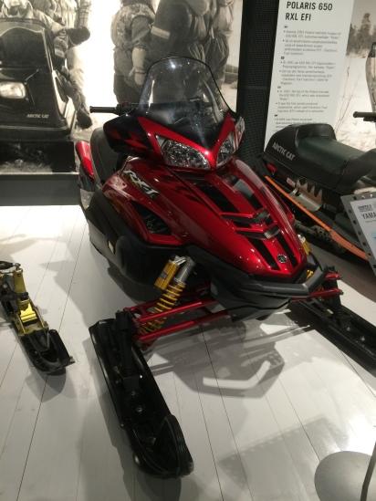 Snowmobile museum.